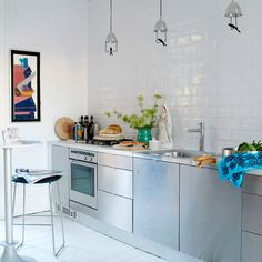 The Most Stylish IKEA Kitchens Weve Seen Kitchens Stainless