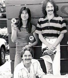 I love the old pics with the band, Steve is ALWAYS the goofball!