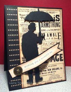 CC412...Umbrella Man birthday