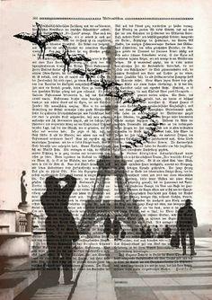 Birds in Paris -  Mixed Media -  Jaroslav Seibert