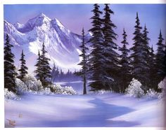 bob ross paintings for sale | Ken Bromley Art Supplies - The Best of Joy of Painting with Bob Ross