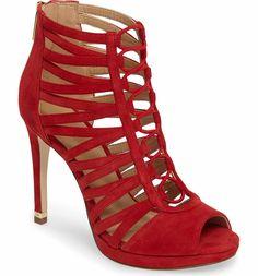 fcc5b9ad25 Main Image - MICHAEL Michael Kors Clarissa Sandal (Women) Stiletto Heels