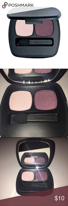 """Bareminerals Ready 2.0 Eyeshadow Duo """"Inspiration"""" Bareminerals Ready Eyeshadow Duo in Inspiration. Brand New. Never Used. Muse and Passion are the names of the two Eyeshadow Colors within this palette. bareMinerals Makeup Eyeshadow"""