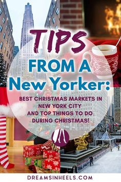 Looking for the best Christmas Markets in New York City and for the best things to do during Christmas in NYC? Don't worry, I've got you covered. As a New Yorker, I share with you insider tips for your winter holidays in NYC! I promise you that visiting N Christmas Things To Do, Best Christmas Markets, New York Christmas, Christmas Travel, Christmas Fun, Christmas Vacation, Xmas, Usa Travel Guide, Travel Usa