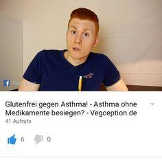 Neues Video am Start!!  . Ich habe vor 3 Monaten einen ziemlich krassen Asthmaanfall bekommen (obwohl ich kein Asthma hatte) mit allem drum und Dran...Notarzt etc. . Ich will daher den Asthmatikern unter euch helfen und zeigen wie dies durch ein paar Stellräder an der Ernährung ganz einfach behoben werden kann! OHNE Medikamente  Link ist in der Bio  . Besuch mich auf: http://ift.tt/Q3PGqs  Snapchat: Vegception  http://ift.tt/1qr9dQO  für mehr Motivation und Tipps!  #veganfitness…