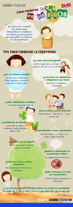 Cómo fomentar la creatividad en los niños