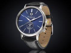 Fromanteel generations horloge met blauwe wijzerplaat GS-1003