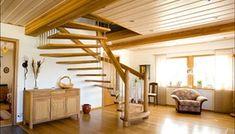 Guide til fornyelse og oppussing av trapp - viivilla. Pergola, Loft, Outdoor Structures, Bed, Interior, Furniture, Home Decor, Decoration Home, Stream Bed