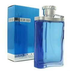 Introduced in 2002,Desire Blue cologne by Alfred Dunhill is an aquatic,amberlike fragrance inspired by a man's self-awareness. The deep notes of bergamot and orange flower water impart a sparkling dim