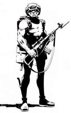 Rogue Trooper #2000AD UK Comic