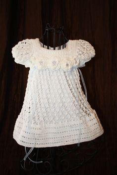 crochet blessing dress