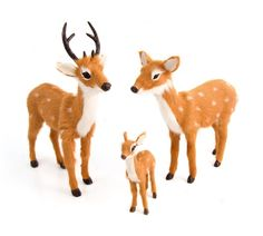 Bambi family, from £12 for the fawn, caravanstyle.com