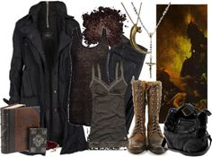 """Into the Lungs of Hell"" by beyondthewallofsleep on Polyvore"