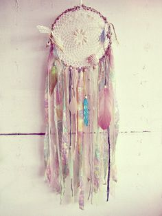 """- Made to order! -   """"Very Gypsy""""  #bohemian wall hanging dreamcatcher  Handmade…"""