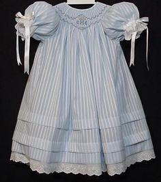 Heirloom Sewing and Smocking.....love the deep tucks.