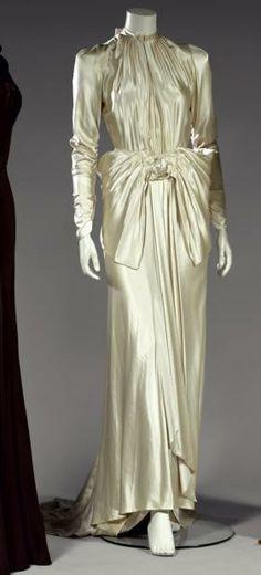 LOUISE BOULANGER Robe de mariée, 1929.