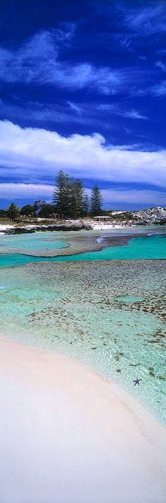 The Basin is a beach on Rottnest Island off the coast of Fremantle, Western Australia. The Basin is one of the island's more popular beach areas and offers great snorkeling and swimming.