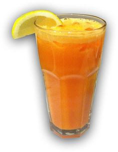 The Sunrise Surprise Juice Recipe is an amazing, flavor packed juice I drink in the mornings or as a refresher between breakfast and lunch. #justonjuice #juicing ( http://www.justonjuice.com/sunrise-surprise )
