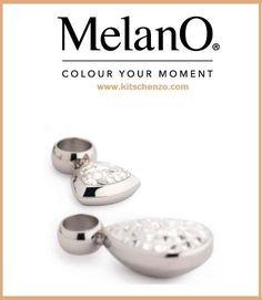 Melano multi CZ hanger triangle voor oorringen