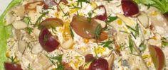 Ensalada de Pasta con Pollo y Eneldo