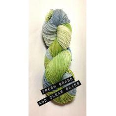 Fresh Grass and Clear Skies by PurpleGoddessDesign on Etsy, $20.00