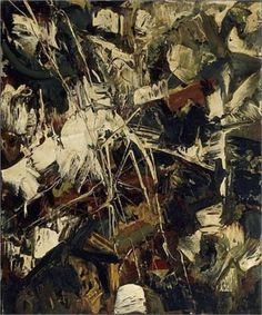 """""""Untitled"""" - Jean-Paul Riopelle, #art #abstract. Follow the biggest painting board on Pinterest: www.pinterest.com/atelierbeauvoir Sam Francis, Art Informel, Modern Art Styles, Tachisme, Canadian Painters, Oil Painting Techniques, Art Database, Modern Artists, Abstract Expressionism"""