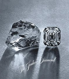 Acquired in 1935, the 726 carat Jonker was Harry Winston's first important diamond purchase. The largest stone cut from the Jonker Diamond weighed 125.35 carats.