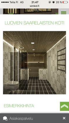 Bathroom Lighting Design, Interior Lighting, Lighting Ideas, Sauna Room, Amazing Architecture, Tile Floor, 3 D, Interior Design, Modeling
