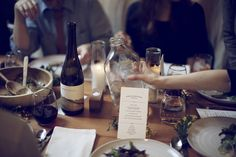 greige: interior design ideas and inspiration for the transitional home : Dinner with friends...