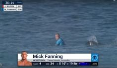 Chiilling video: Surfer fights off shark during competition