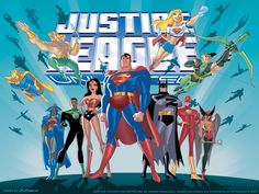 Justice League and Justice League Unlimited
