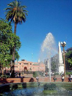 Plaza de Mayo, Casa Rosada, Pirámide de Mayo CABA