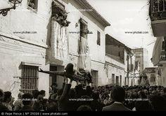 Antigua procesión del Cristo de Mena MÁLAGA