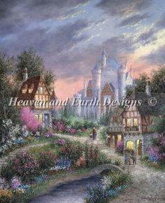 Enchanted Castle. Dennis Patrick Lewan. Heaven and Earth Designs