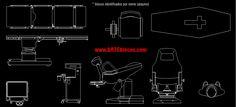 Estes são alguns exemplos de blocos da pasta Medicina: Macas, mesas de cirurgias, esqueleto, macas obstetra, cadeira para medicação, raio-x, médico, enfermeiro, aparelho de oncologia, mamógrafo, cama de UTI / CTI, mesa de parto, mesa ortopédica, e muito mais. Tudo isso disponível para download no site www.arteblocos.com (só R$19,99 a biblioteca completa).