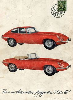 1961 Jaguar XK-E http://classic-auto-trader.blogspot.com #classiccars
