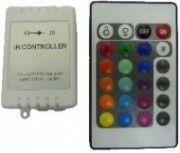 Controlador RGB por infrarrojos para tiras LED + mando a distancia  11,50 €