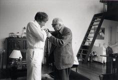 Iannis Xenakis and Olivier Messiaen