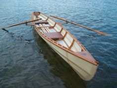 RUTH - 18 ft. skin-on-frame pulling boat designed by Dave Gentry.