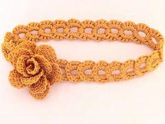 Crochet Headband Pattern, Crochet Headbands, Baby Headbands, Chunky Crochet, Free Crochet, Knitting Patterns, Crochet Patterns, Beginner Crochet Projects, Bobble Stitch