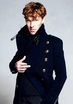 Benedict Cumberbatch/Harper's Baazar... His fan girls call themselves the Cumberbitches, I'm definitely joining that club!