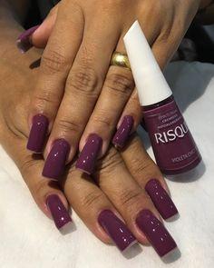 Manutenção de Fibra de Vidro da cliente @rosemary_tavares 💜 ⠀⠀⠀ ⠀⠀⠀⠀⠀⠀ ⠀⠀⠀ Profissional Isis ⠀⠀⠀ ⠀⠀⠀⠀⠀⠀ ⠀⠀⠀ ⠀⠀⠀ ⠀⠀⠀⠀⠀⠀ ⠀⠀⠀ ⠀⠀⠀ ⠀⠀⠀⠀⠀⠀ ⠀⠀… Lipstick Colors, Nail Colors, Love Nails, My Nails, Nail Paint Shades, Chunky Blonde Highlights, Matte Acrylic Nails, Nail Art Hacks, Simple Nails