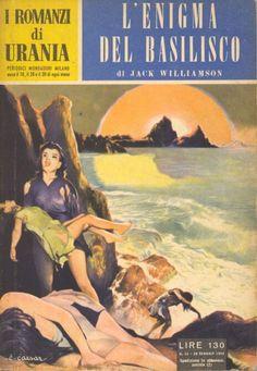 32  L'ENIGMA DEL BASILISCO 20/1/1954  ONE AGAINST THE LEGION  Copertina di  C. Caesar   JACK WILLIAMSON