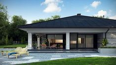 Top Landscaping Companies Near Me Home Building Design, Home Garden Design, Home Design Plans, Modern Bungalow House, Bungalow House Plans, House Plans Mansion, Dream House Plans, Rustic House Plans, Modern House Plans
