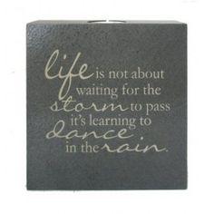 Part Dance... Tealight Holder (Chocolate/6 x6 in.)
