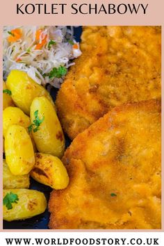 Kotlet Schabowy (pronounced KOHT-Let s-HA-bow-vey), is a traditional Polish dish that comprises a pork cutlet made crispy by coating it with breadcrumbs then fried to give you a delicious treat.Lovers of Polish cuisines will appreciate how rich the food culture is in this country. From its interactions with many other cultures, Poland adopted many culinary traditions including kotlet schabowy recipe. Turkey Tenderloin, Brown Sauce, Pork Cutlets, Fried Pork, International Recipes, Tasty Dishes, Poland, Meal Planning, Main Dishes