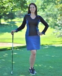 Golf skort with compression fabric!