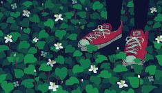 The perfect Aesthetically Aesthetic Shoes Animated GIF for your conversation. Discover and Share the best GIFs on Tenor. Pixel Art Gif, How To Pixel Art, Animation Pixel, 8 Bit Art, Oldschool, Aesthetic Gif, Aesthetic Green, Aesthetic Shoes, Gif Animé