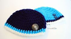 Beginner crochet patterns don't have to be plain, as this Beginner Blue Baby Beanie proves. This free crochet baby hat pattern has plenty of charm and detail even though it's really quick and easy! Crochet Baby Hat Patterns, Crochet Kids Hats, Crochet Baby Clothes, Newborn Crochet, Crochet Patterns For Beginners, Crochet Beanie, Free Crochet, Beginner Crochet, Crochet Summer