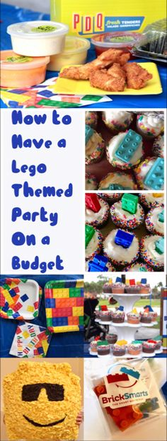 How to Have a Lego Themed Birthday Party on a Budget – Mom Junky